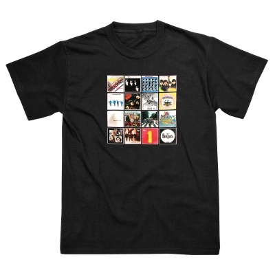 Beatles Album Cover T-Shirt £7.50 | Past Times #Beatles #Gifts