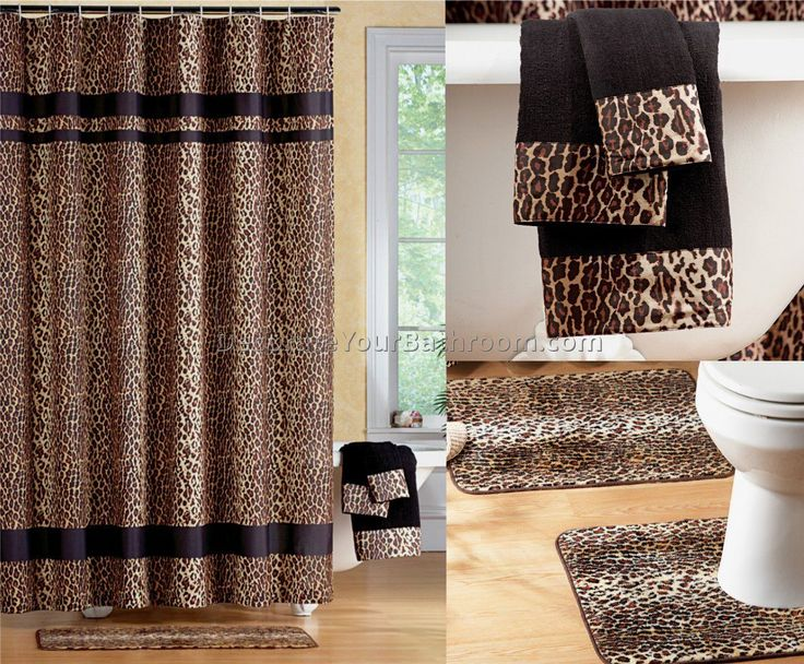 Awesome Leopard Bathroom Decor