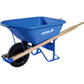 Jackson 5.75-Cu Ft Thermoform Wheelbarrow Mp57514