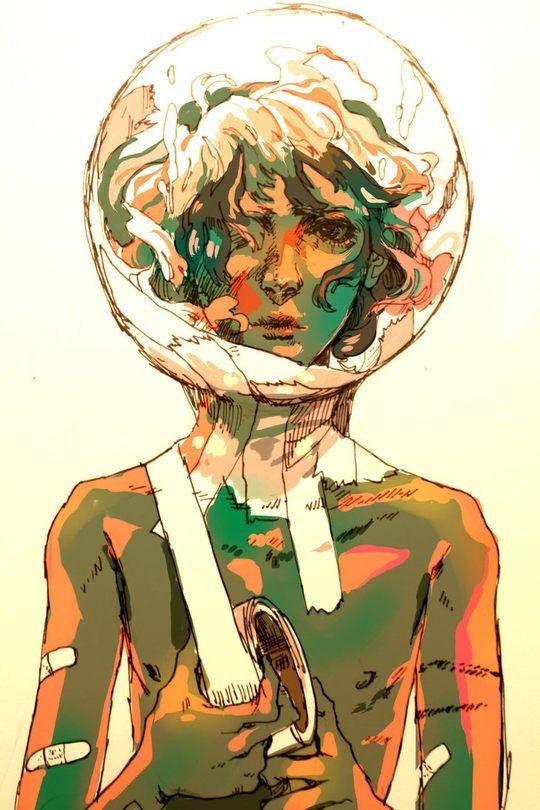 Cool Digital Illustrations by Arrrkal