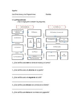 Giving and Understanding Directions in Spanish (includes ...