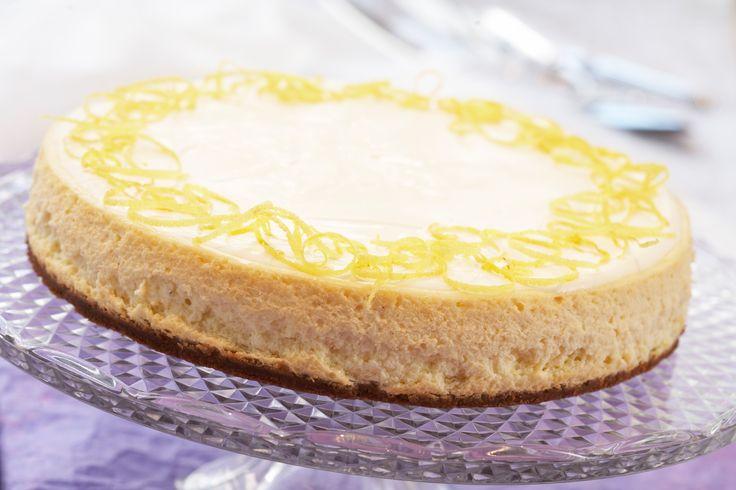 New York ostekake: Klassisk ostekake fra New York. En amerikansk drøm? En frisk ostekake med sitron som setter spor!