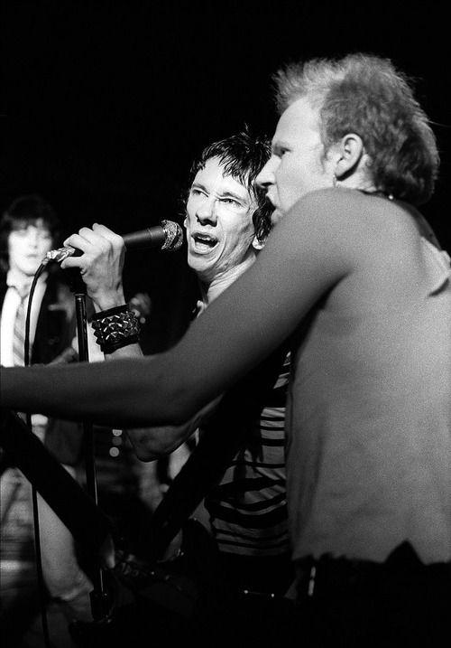 Dead Boys: Stiv Bators and Cheetah Chrome, 1978