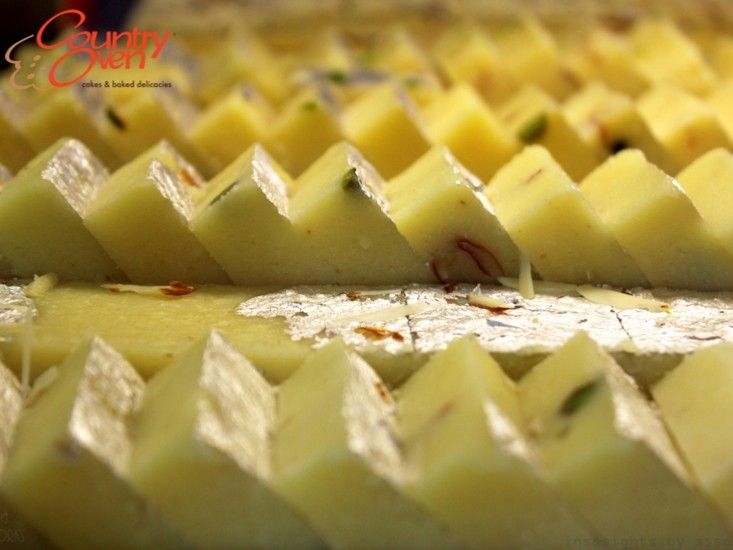 Every hour is a happy hour with Badam Burfi! Order Online @ www.countryoven.com. #Sweets #Indiansweets #traditionalsweets