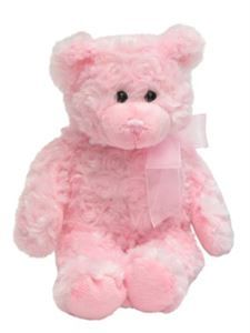 Soft Pink Teddy | http://www.flyingflowers.co.nz/soft-pink-teddy