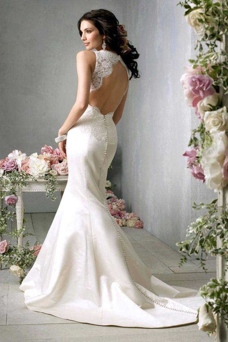 Designer Mermaid Wedding Dresses 2014