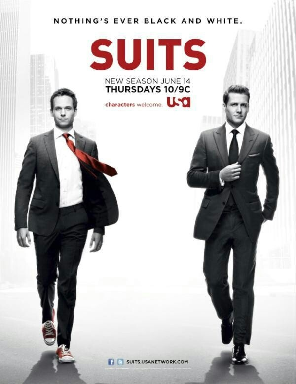 SUITS. My fave.
