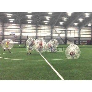 Bubble head soccer, bubble soccer jimmy fallon