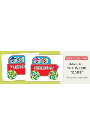 Free download: Days of the week - Blog Free download: Days of the week