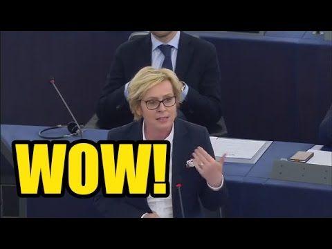 """Jadwiga Wiśniewska ZAORAŁA Parlament Europejski! """"Chcecie dyskutować o u..."""