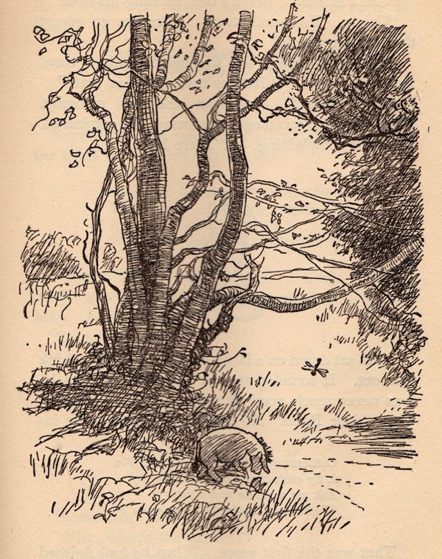 Winnie the Pooh - illustrated by Ernest H. Shepard
