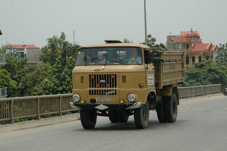 IFA Truck in Vietnam Legendary & Oldtime IFA Trucks