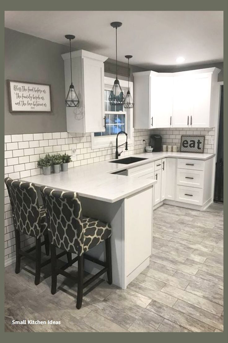 Small Kitchen Design Ideas   Kitchen remodel small, Kitchen design ...