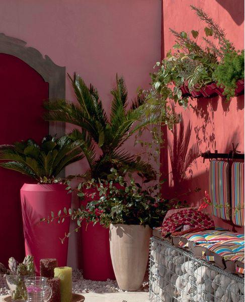 Les 25 meilleures id es de la cat gorie jardin marocain sur pinterest meilleures lumi res for Amenager son jardin en provence