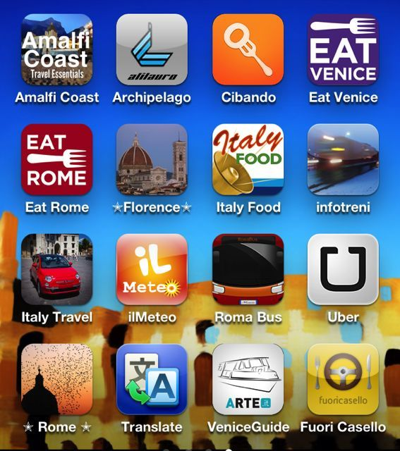 Italy-There's an App for That!  These days, almost everything has a smartphone app. Our beloved Italy is not an exception. Read Tour Italy Now's blog post about the best smartphone apps for your Italian trip.  What's your favorite Italy app?