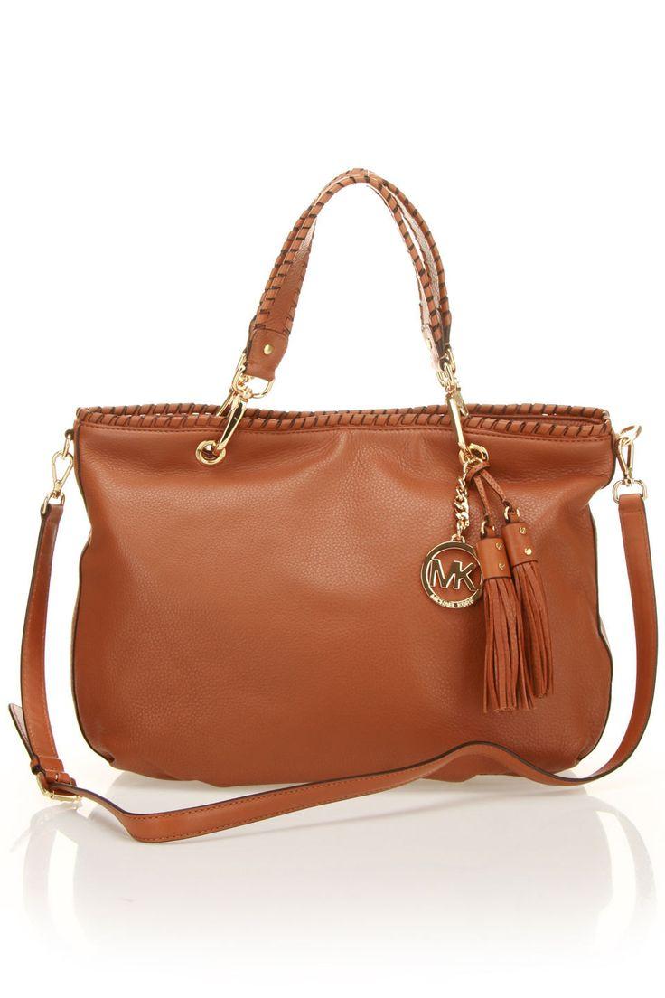 MK Bennet Large Tote In Luggage $299.99 �� Michael Kors Bags SaleCheap  Michael Kors HandbagsMichael ...
