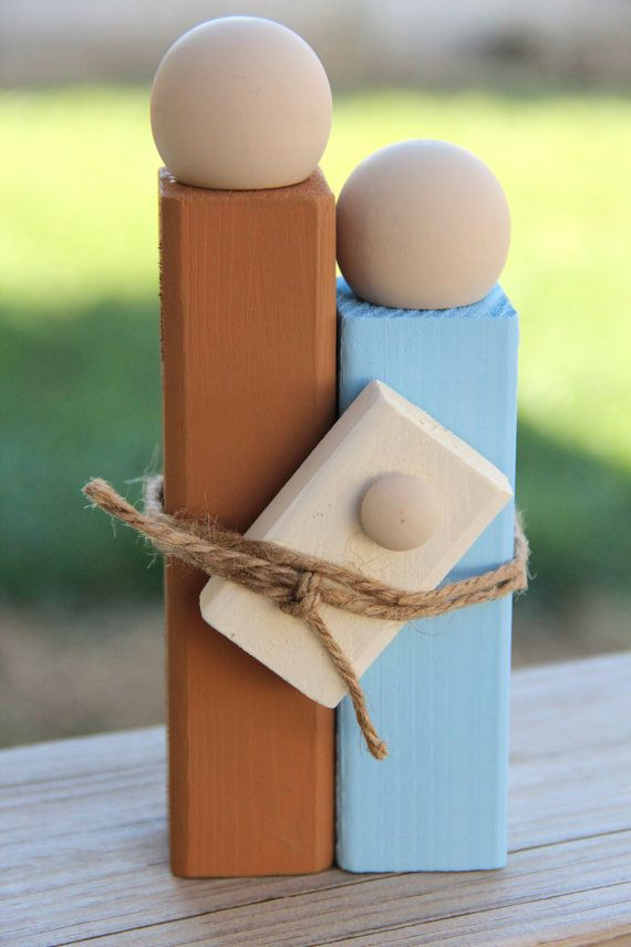 Simplistic Wooden Christmas Nativity by RandomRoadCreations, $10.00