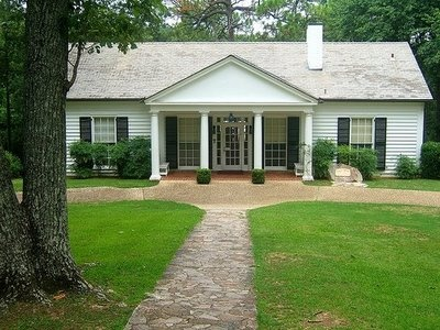 The Little White House in Warm Springs, GA ~