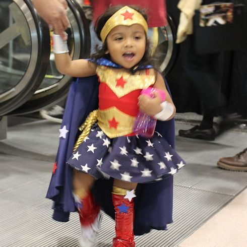 And of course the flyest Wonder Woman you've ever seen. | Definitive Proof That Little Girls Are Better At Designing Superhero Costumes Than You