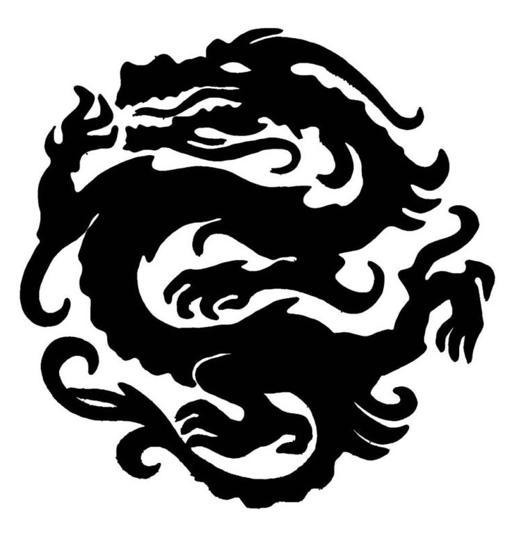 Dragon Stencil FOR Airbrush Tattoo Craft ART | eBay