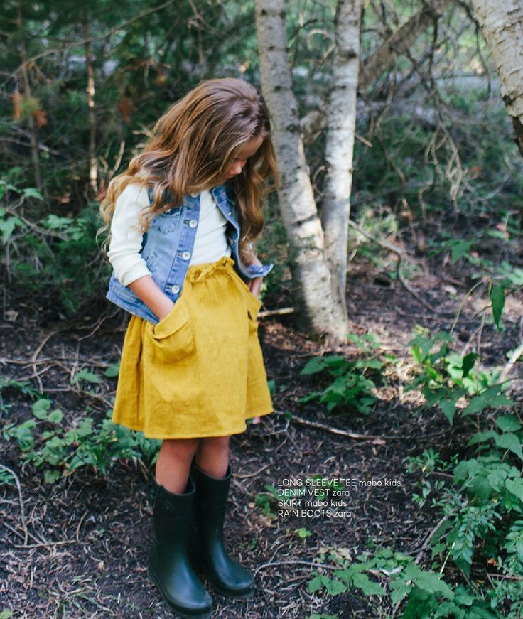 Kid's fall fashion #inspo | Little Peanut Mag Fall 2015