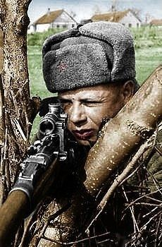 Russian sniper 1943