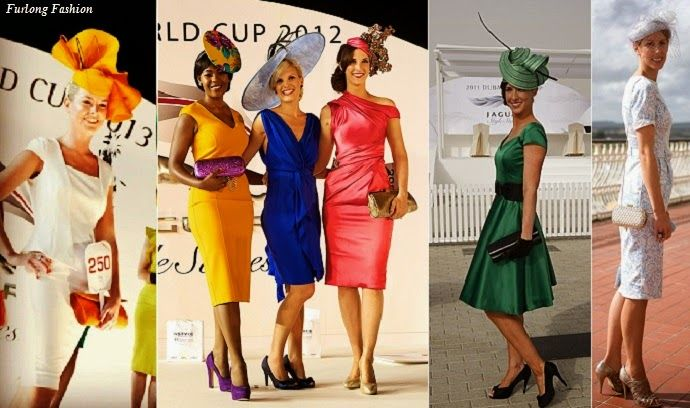 fashion at the races Dubai World Cup Fashion Horse Racing Best Dressed at the races www.furlongfashion.com