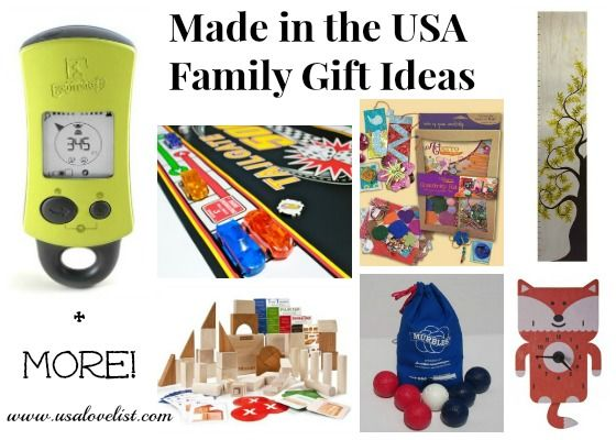 Our Favorite Made in the USA Family Gift Ideas {2013 Holiday Gift Guides} http://www.pittsburghskinnywraps.com/ or https://www.facebook.com/#!/pittsburghskinnywraps #itworks #skinnywrap #health #fitness #livelonger #homebusiness #makemoney #workfromhome #healthy #allnatural #skinproducts #tighten #tone #fatfighter #loseweight #stretchmarks #Pittsburgh #sahm #wahm #livingdebtfree #vitamins #proteinshakes #mealsupplements