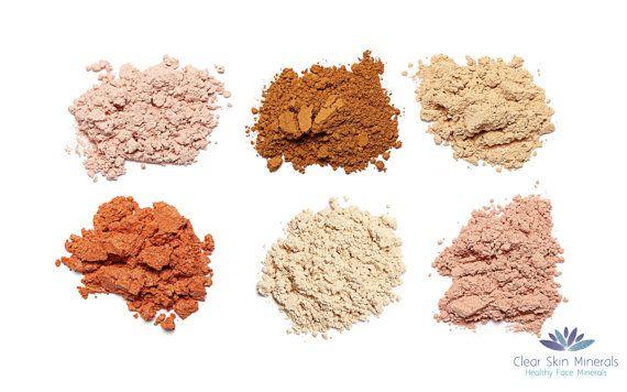 Trucco minerale  Fondazione  Trucco minerale di CLEARSKINMinerals
