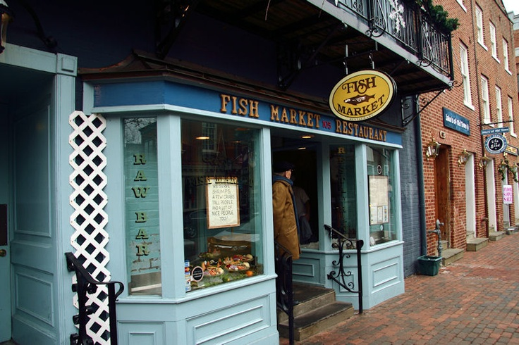 I used to love eating at The Fish Market in Old Town, Alexandria, VA. They served these really ...