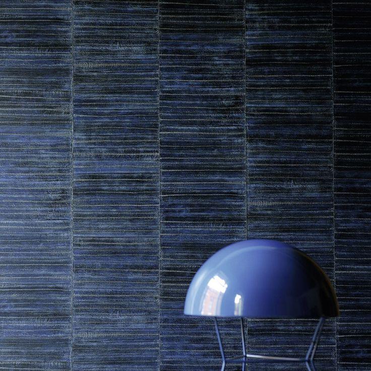 Elitis Anguille Big Croco Galuchat Wallpaper | Houseology