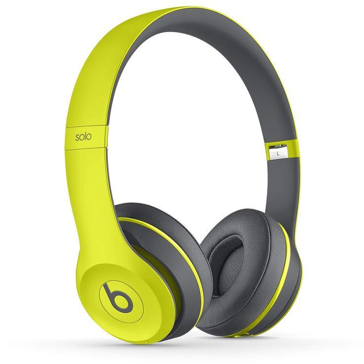 Audífonos Beats Solo 2 wirelss shock yellow active | SEARS.COM.MX - Me entiende!