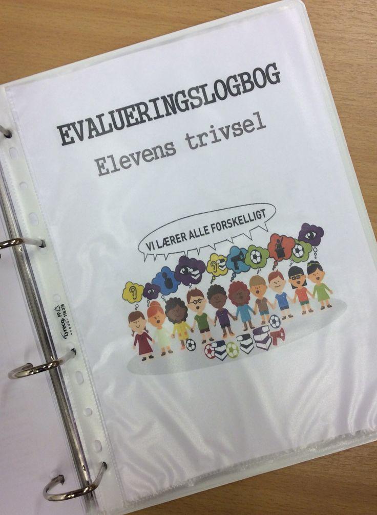 4 gange i løbet af året sendes evalueringslogbogen med hjem - og der vil…