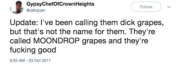Sorry But These Moon Drop Grapes Are Kinda Freaking Me Out