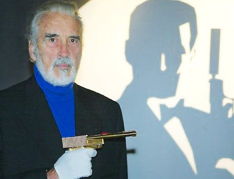 N°9 - Christopher Lee (today) as Francisco Scaramanga (1974) - The Man with the Golden Gun (L'Homme au pistolet d'or)