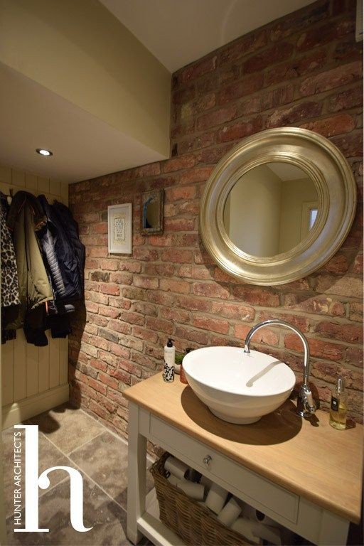 Cloakroom in new build home in Hale Altrincham | House ...