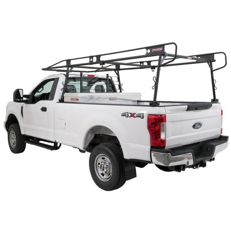 Weather Guard Steel Truck Rack 58 82 In Plastic Steel Roof Rack Hardware Included Lowes Com In 2020 Ladder Rack Truck Roof Rack Gmc Trucks