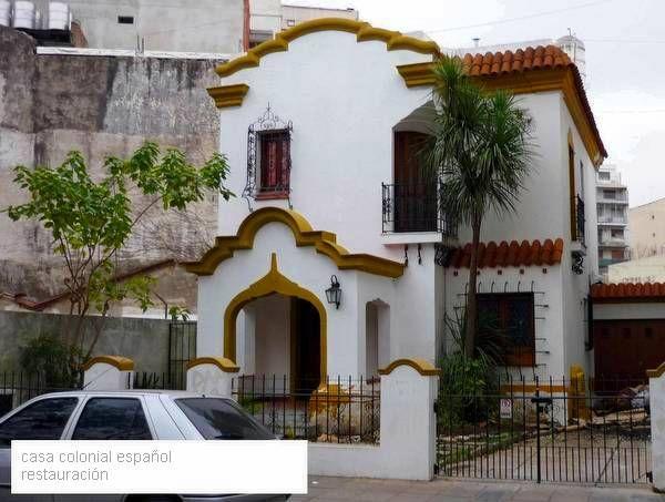 Arquitectura de Casas: Restauración de una casa estilo Colonial español.