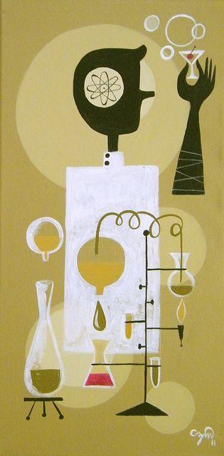 Atomic age/retro #art