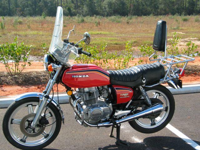 Honda 400cc automatique Hawk