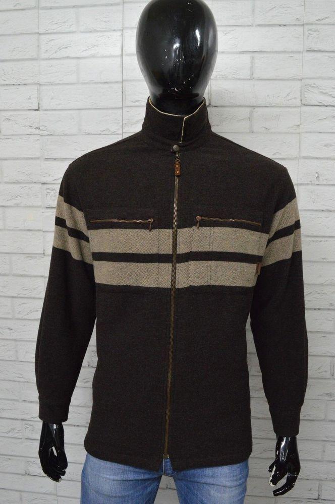 Giacca in Lana Uomo TIMBERLAND Taglia Size 50 Jacket Man Giubbotto Bomber  Giacca e3ef57486f7