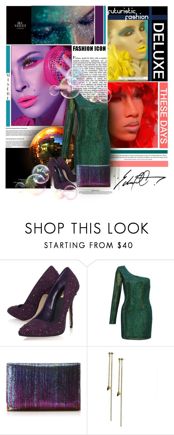"""""""COLOUR CONTRAST ..."""" by sh3hzaadi ❤ liked on Polyvore featuring Maybelline, Carvela, Ariella and HOBO"""