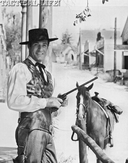 "THE LIFE AND LEGEND OF WYATT EARP (ABC-TV) - Hugh O'Brian as ""Marshal Wyatt Earp"""