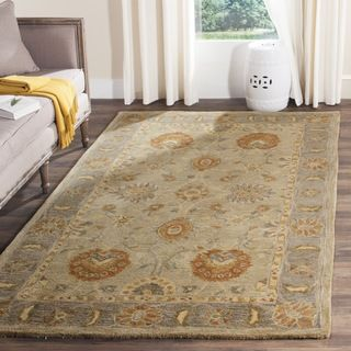 Shop for Safavieh Hand-made Anatolia Taupe/ Grey Wool Rug (6' x 9'). Get free shipping at Overstock.com - Your Online Home Decor Outlet Store! Get 5% in rewards with Club O!