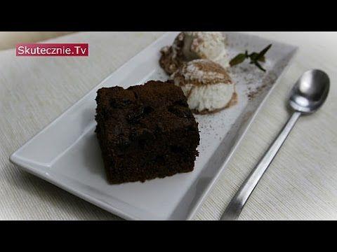 Ciasto czekoladowe z wiśniami (bez miksera) :: Skutecznie.Tv [HD] - YouTube