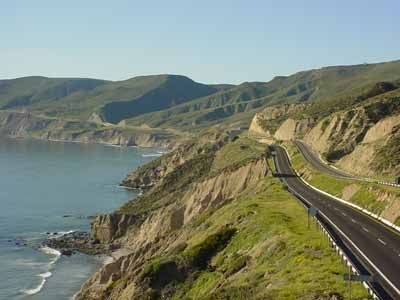 Scenic highway tour ~ Drive from San Diego to Rosarito, Mexico, by the Pacific coastline and down the Baja Peninsula.