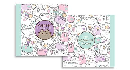 New Pusheen Coloring Book  #catproducts