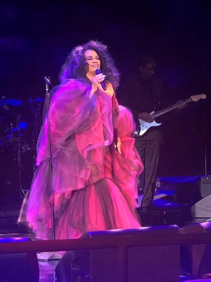 Diana ross at the wynn in las vegas wednesday august 14