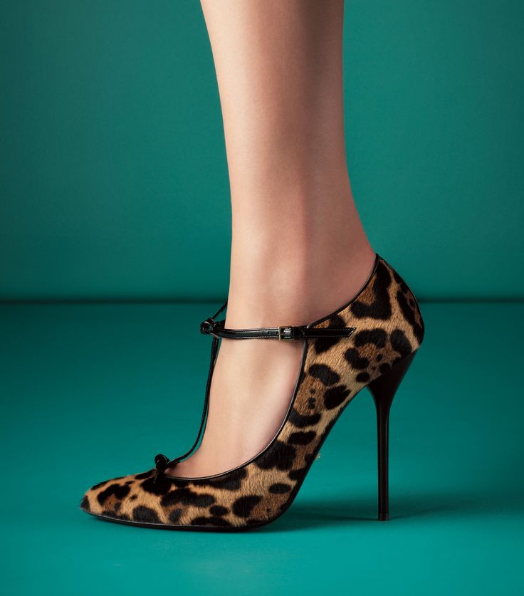 Gucci Jaguar Print Pump