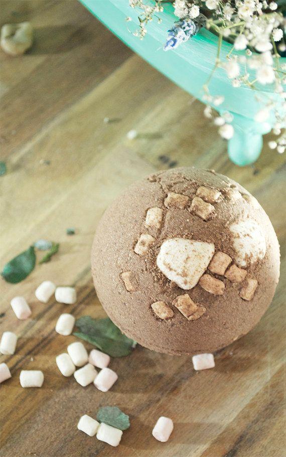 Hot Chocolate Extra-Large Bath Bombs Bath Melt by NurOrganics